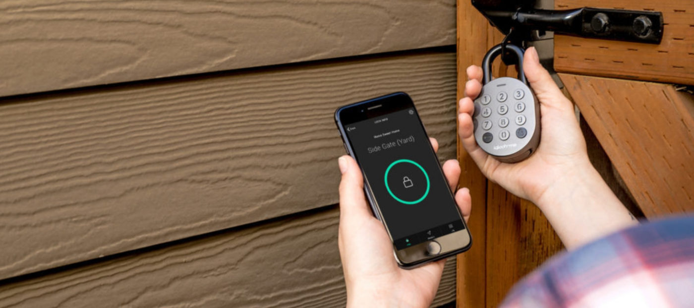 This Smart Padlock raised 260% of its $50K crowdfunding goal