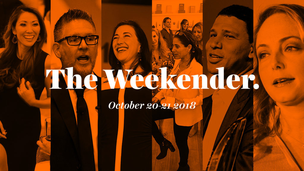 The Inman Weekender, October 20-21, 2018
