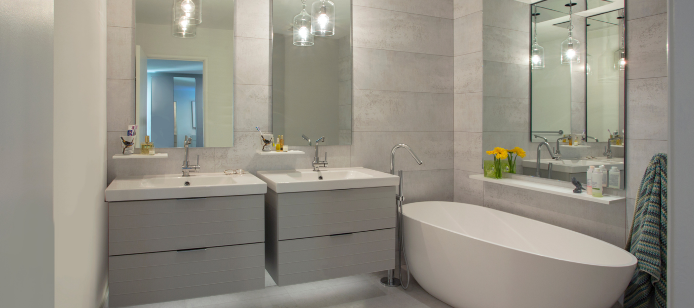 Bathroom trends: Tubs are out, new faucets are in