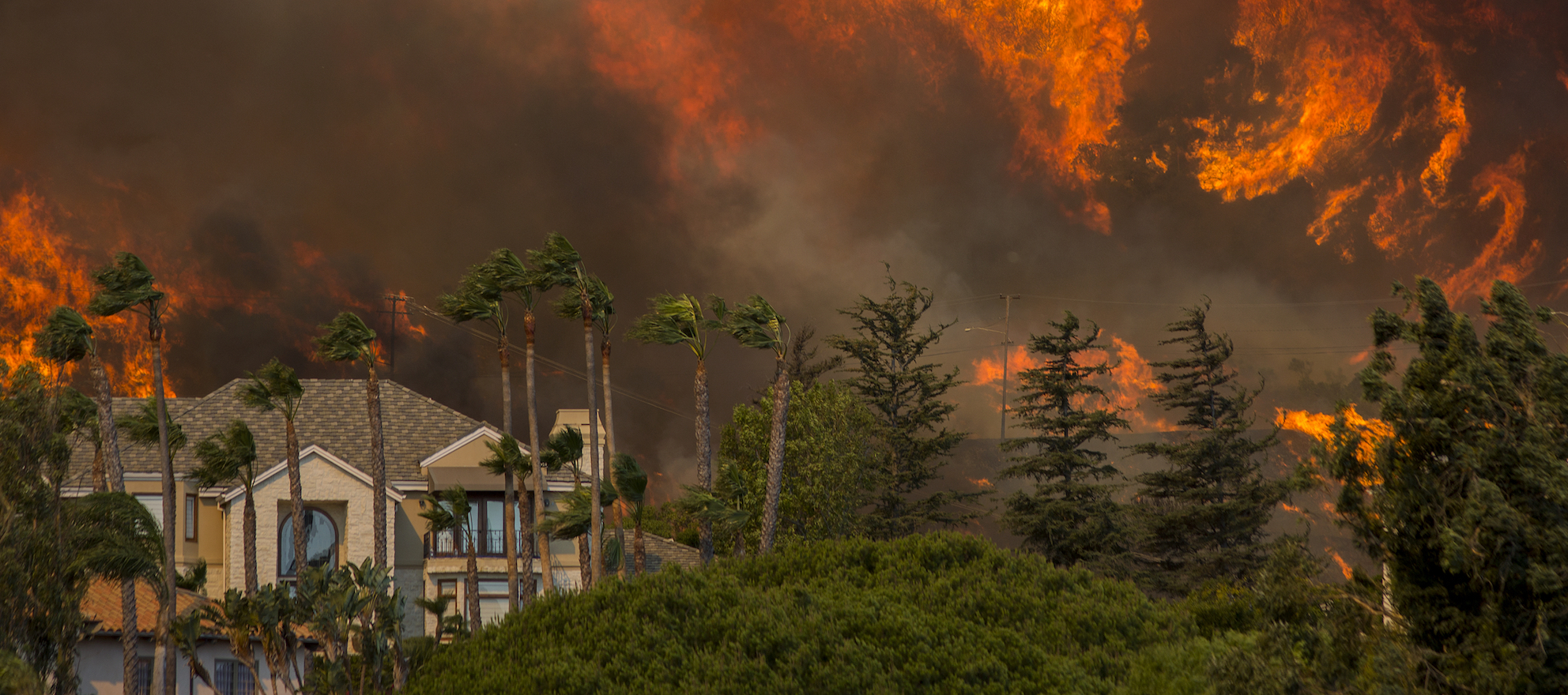 California Hill and Woolsey Fires Force Evacuations In California's Ventura County