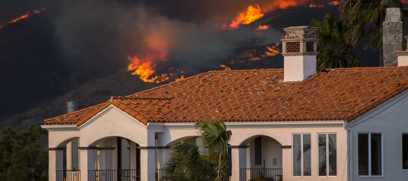 Fire won't keep homebuyers away from California