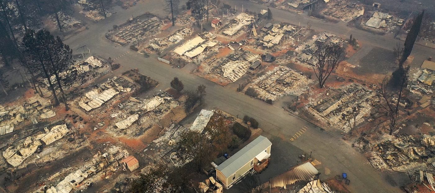 Prices surging in areas devastated by California's Camp Fire
