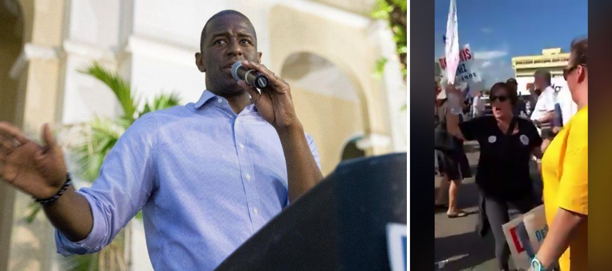 Agent fired after mocking Andrew Gillum supporters in viral video