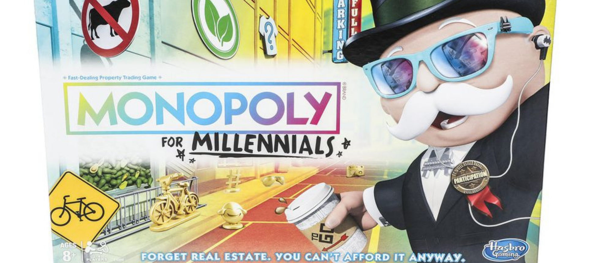 'Monopoly for Millennials' hits shelves, sans real estate