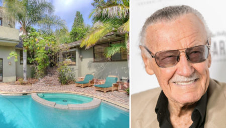 In his life, Marvel Comics legend Stan Lee had superhero homes
