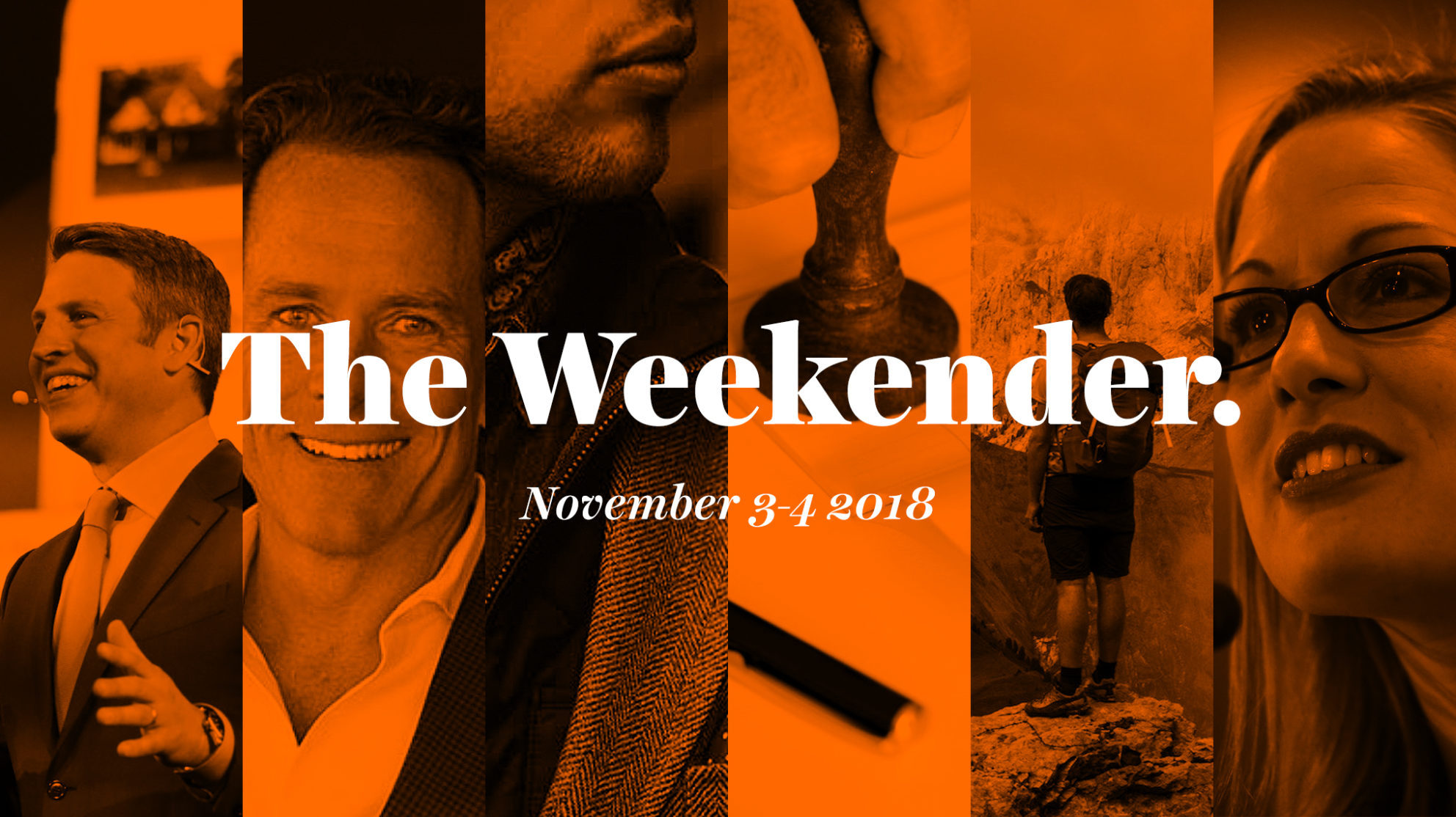 The Inman Weekender, November 3-4, 2018