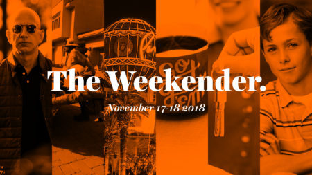 The Inman Weekender, November 17-18, 2018