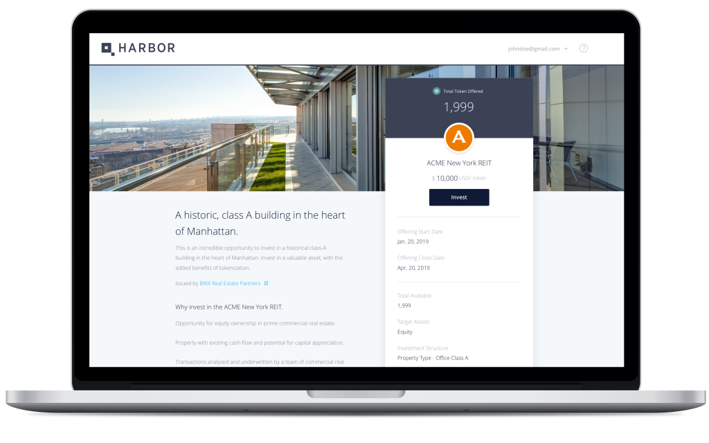 Harbor is bringing blockchain to real estate investing