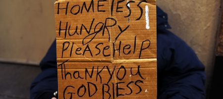 Homelessness edges up despite low unemployment rate