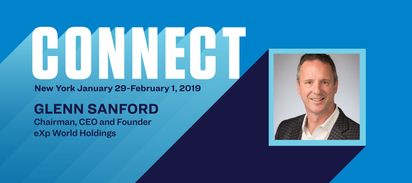 Connect the Speakers: eXp Realty CEO Glenn Sanford on innovating in a shifting market