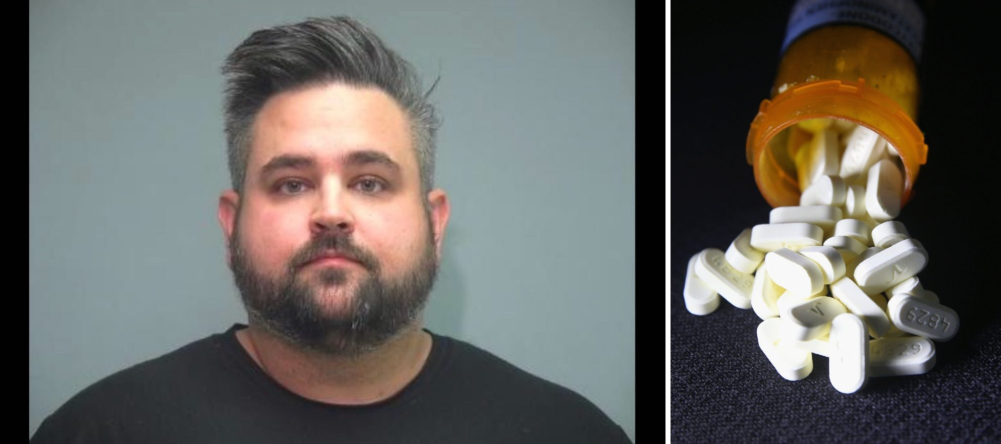 Agent charged with stealing pills from house he was showing