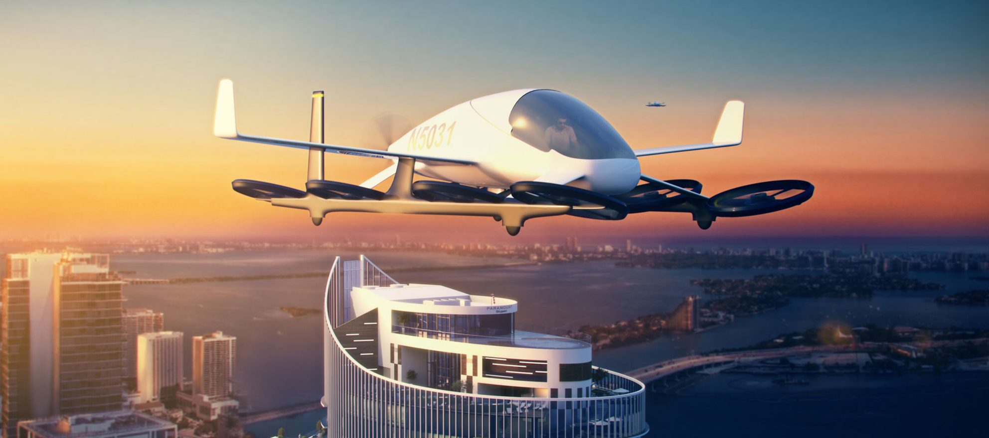 Miami's latest luxury condos have landing pads for flying cars