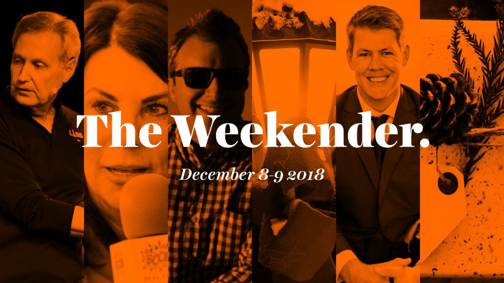 The Inman Weekender, December 8-9, 2018