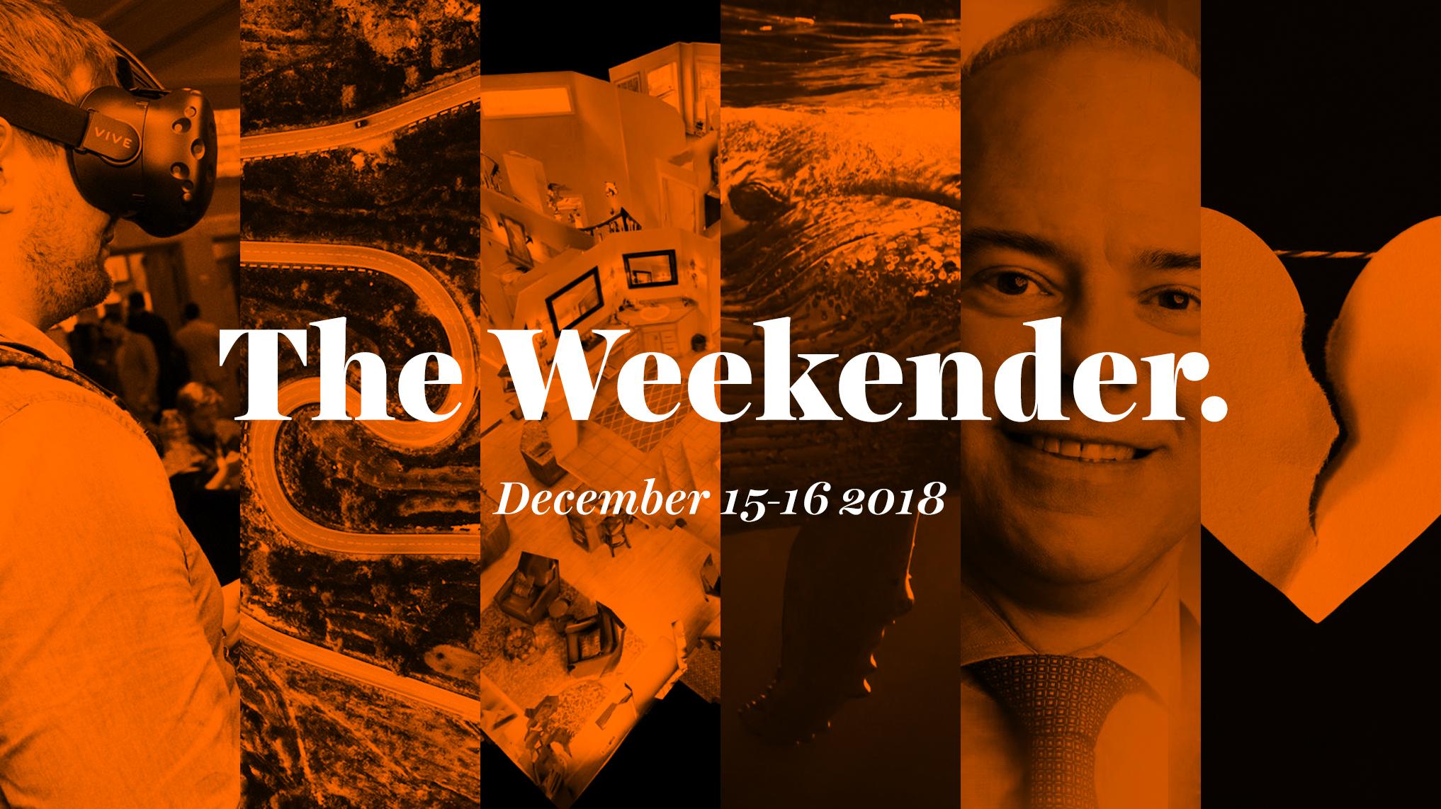 The Inman Weekender, December 15-16, 2018