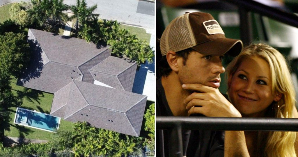 Enrique Iglesias and Anna Kournikova list Miami mansion