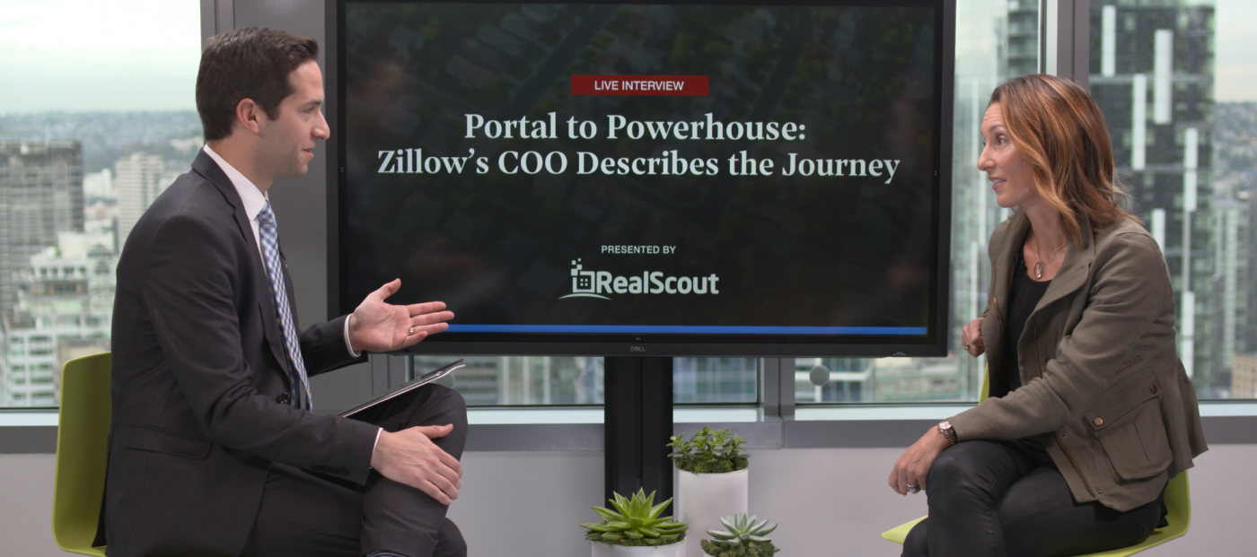 WATCH: Exclusive interview with Zillow COO Amy Bohutinsky