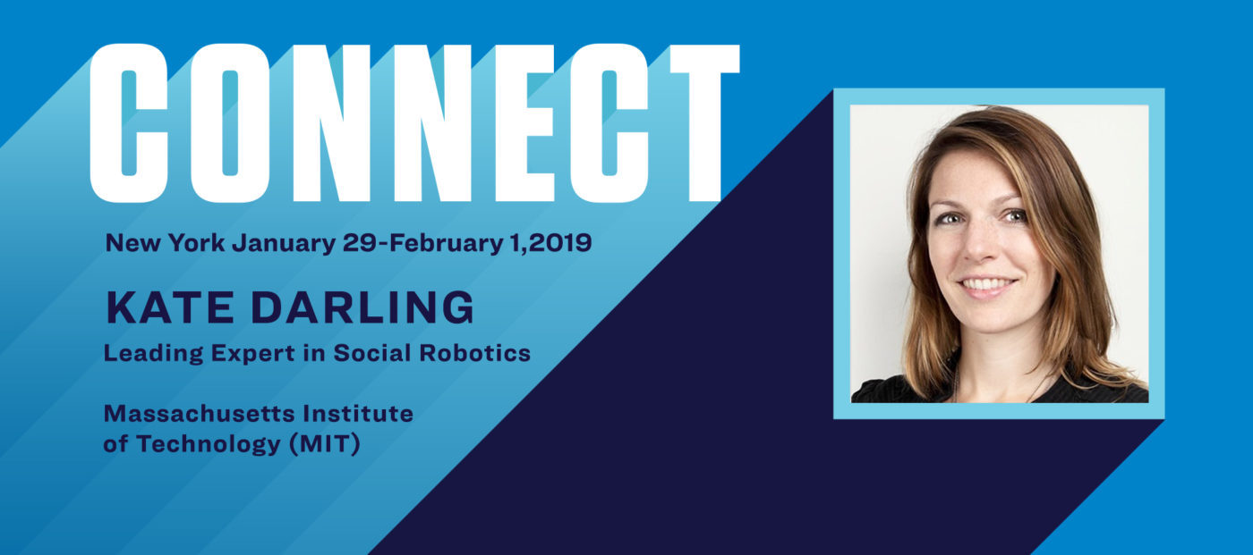 Connect the Speakers: Kate Darling on the ethics of robotics