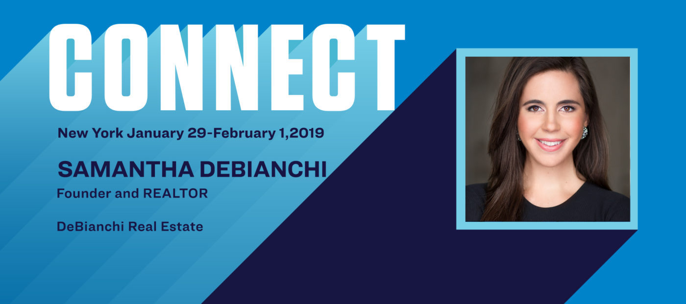 Connect the Speakers: Samantha DeBianchi on helping clients build wealth