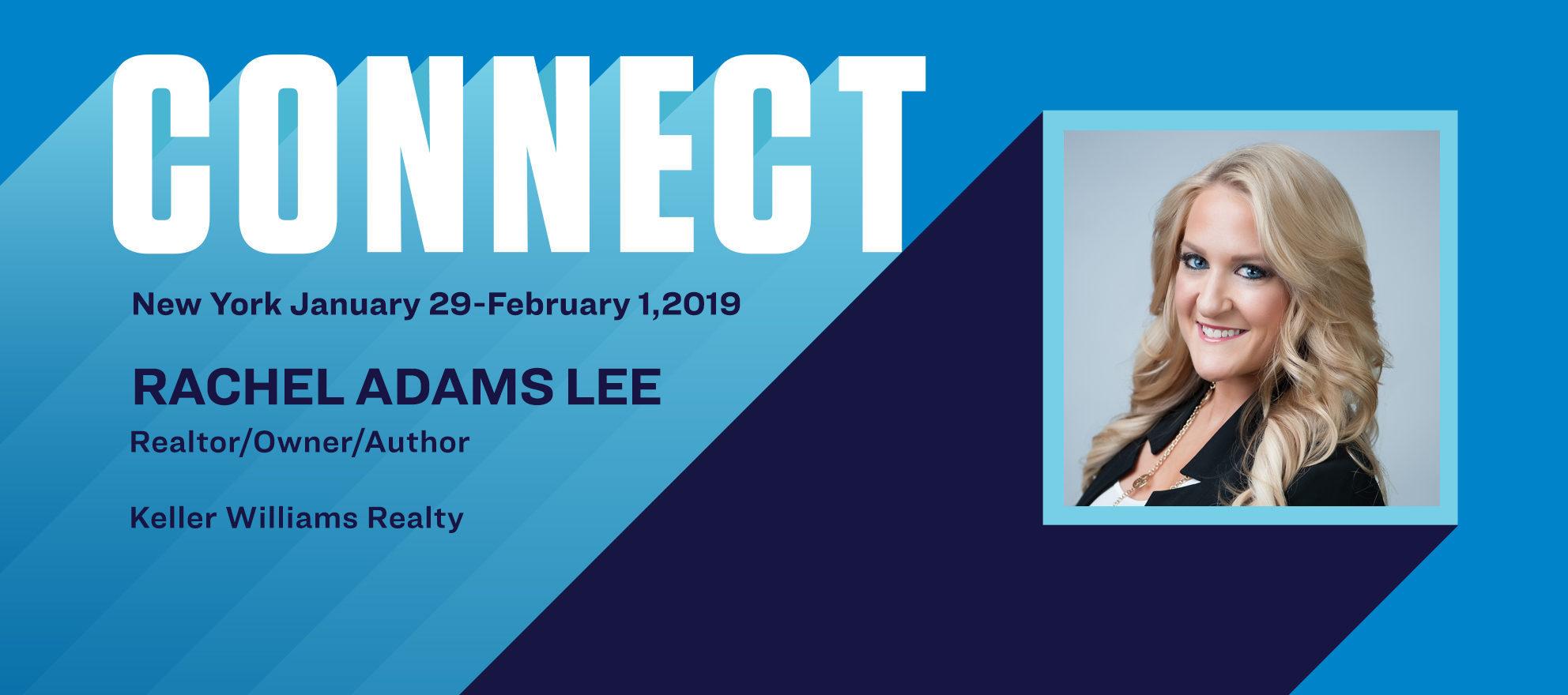Connect the Speakers: How Rachel Adams Lee built her business