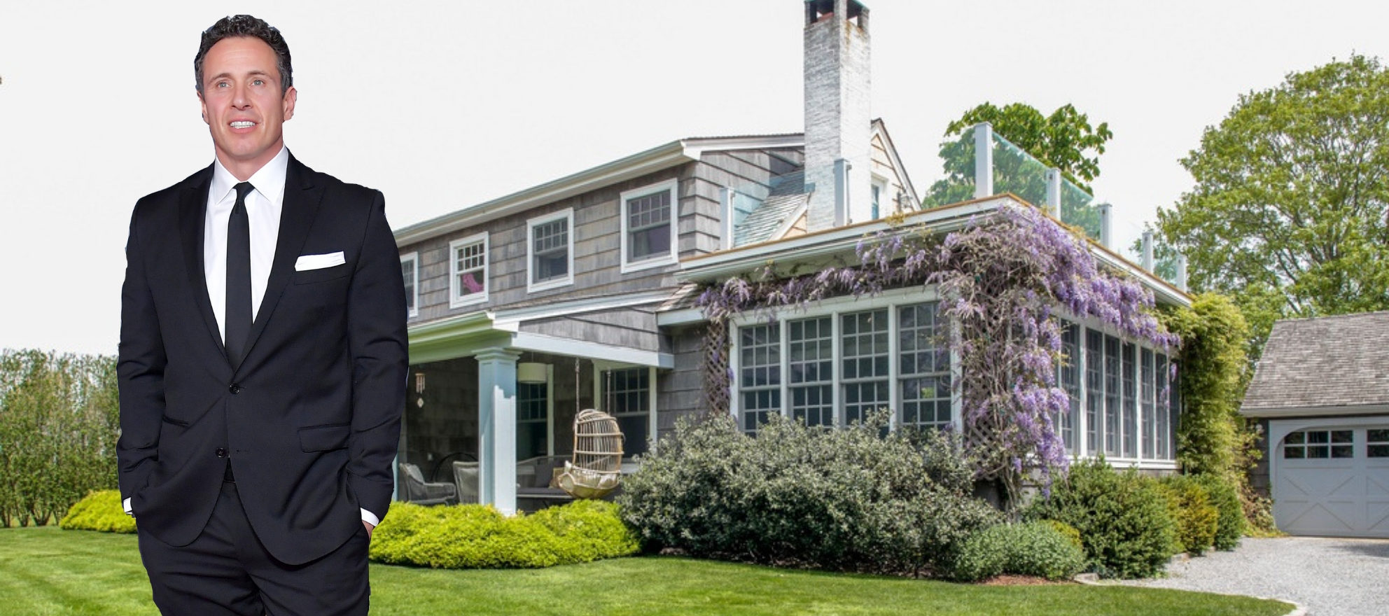 CNN anchor Chris Cuomo is selling his Hamptons home