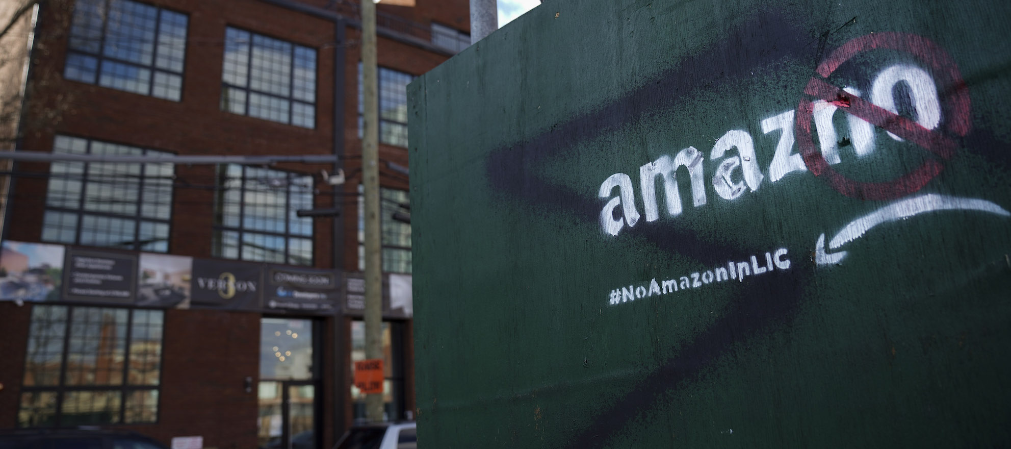 Local Realtors reel from report Amazon may avoid NYC