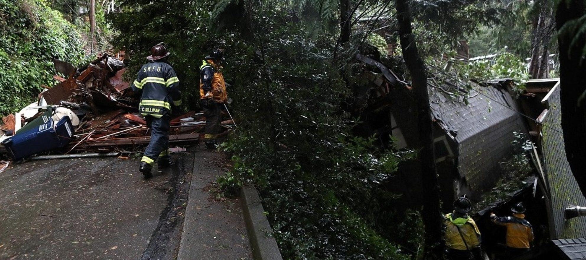Major mudslide in California prompts evacuations