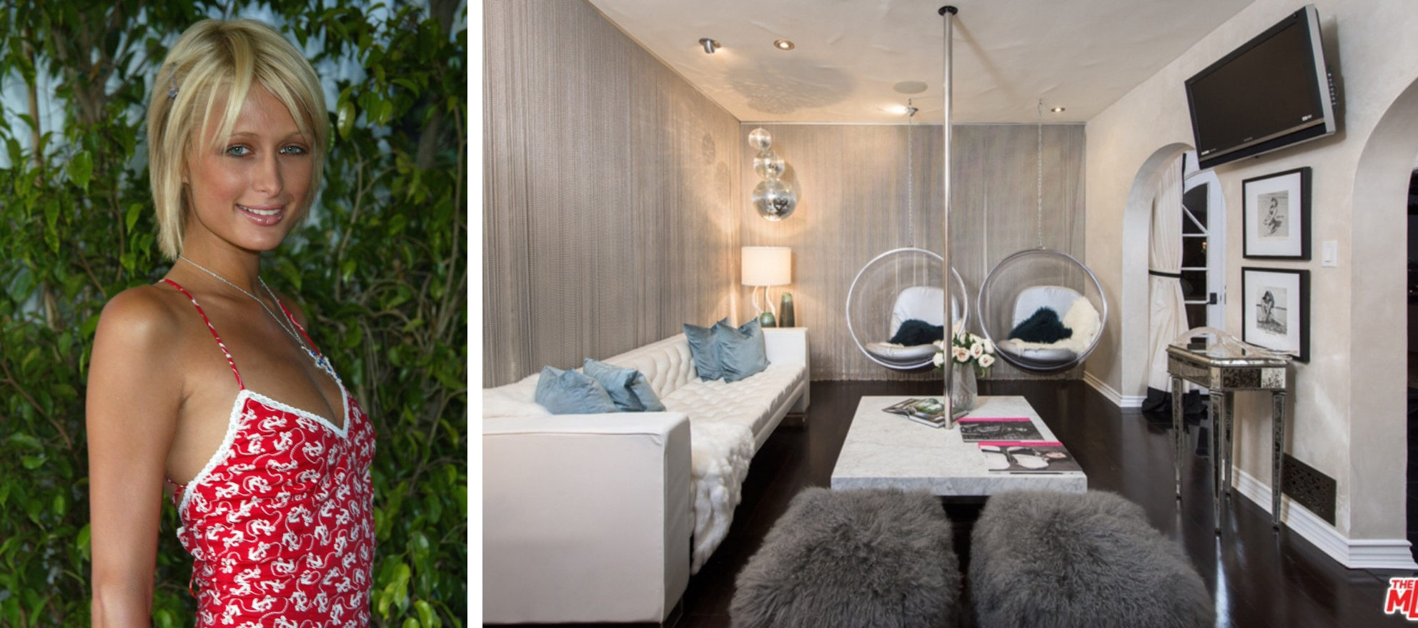 Paris Hilton's old party pad up for rent — stripper pole included