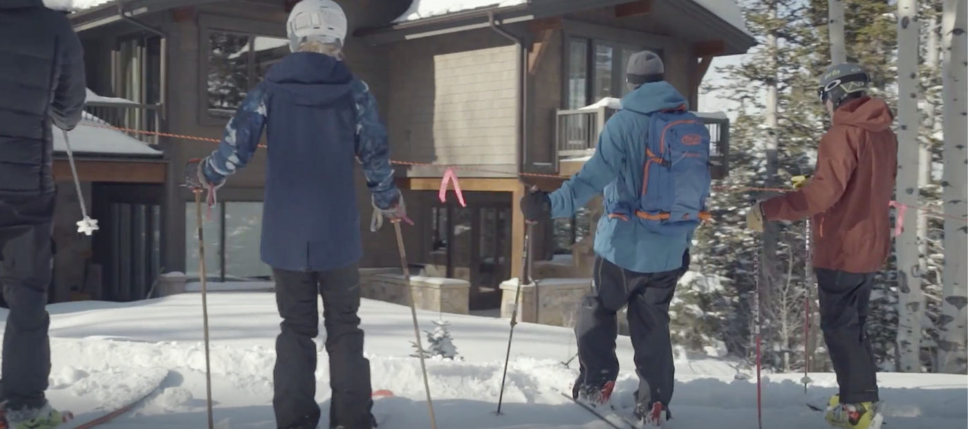 Windermere Park City does luxury home tours right: on skis