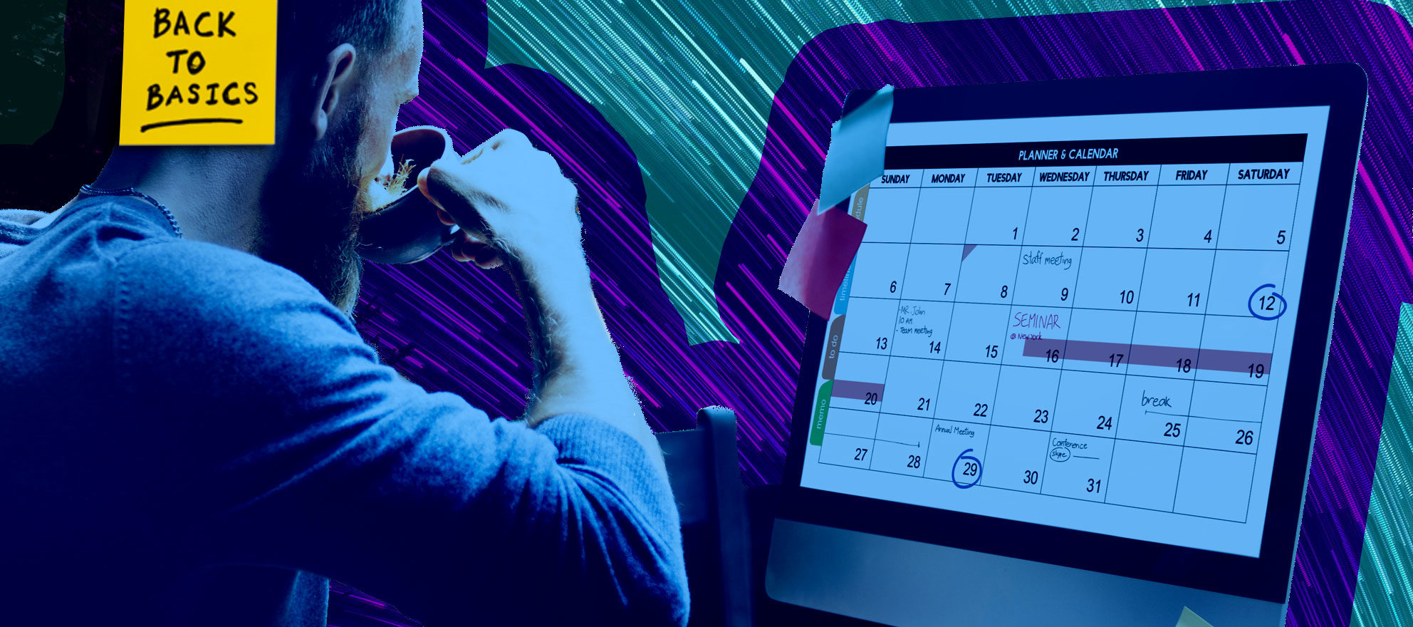 A fool-proof approach to creating and scheduling content