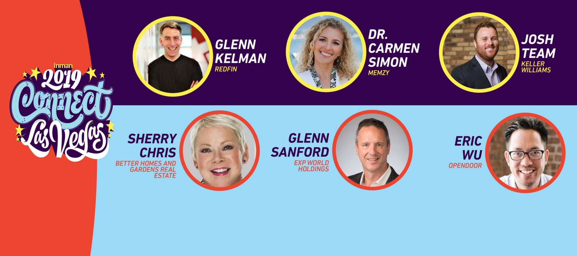 Announcing the first round of speakers for Inman Connect Las Vegas 2019
