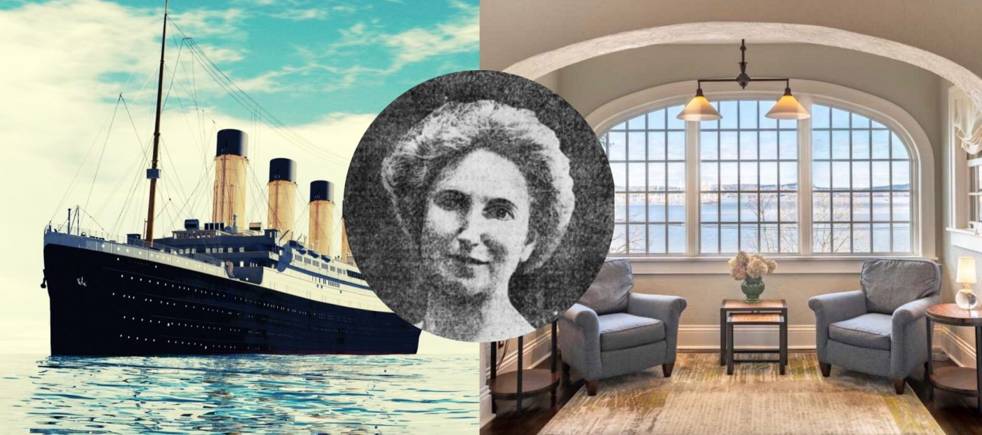 The home of a Titanic survivor has hit the market for $1.8M