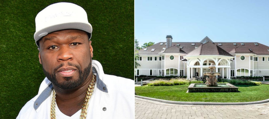 50 Cent finally sells 52-room estate after massive price cuts