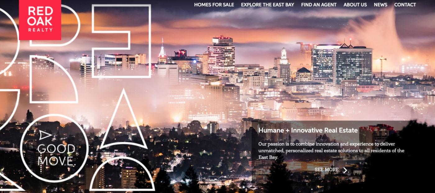 Red Oak Realty reveals new website, platform redesign