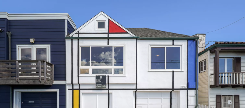 Mondrian-mimicking home sells for $500K above asking price