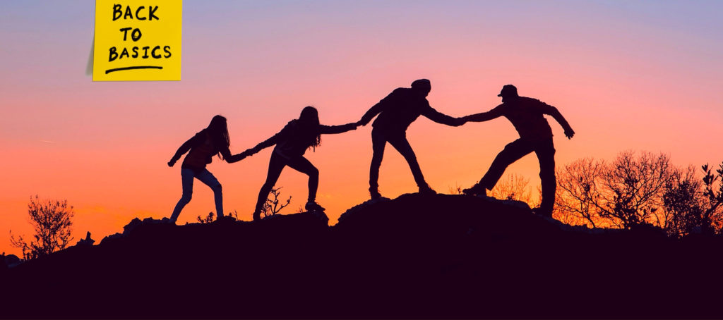 How to find your support system as a newbie