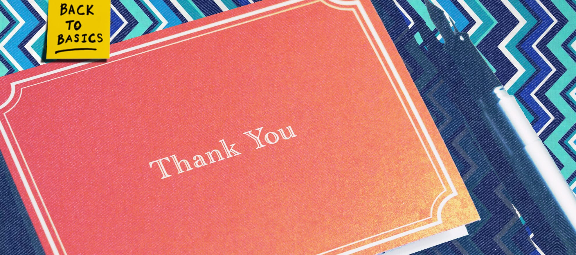 9 ideas for making your 'thank you' stand out