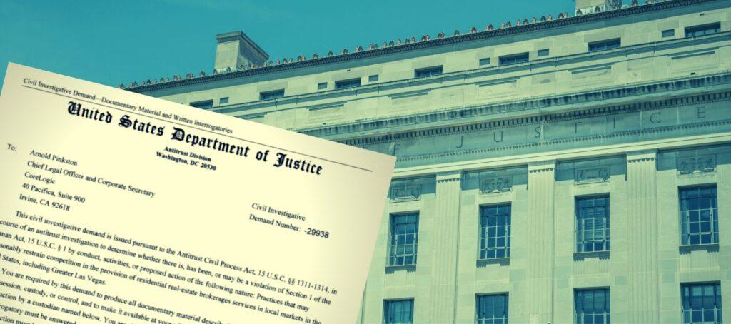 READ: Justice Department's letter to CoreLogic demanding MLS info
