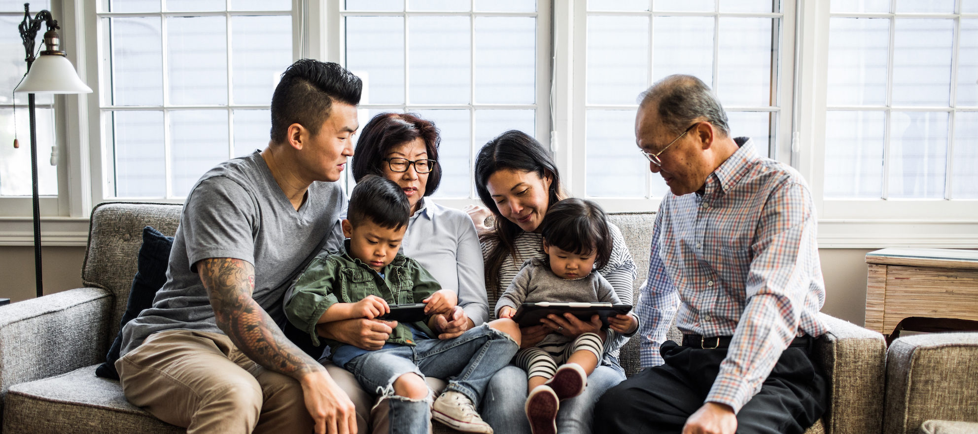 Multigenerational households are on the rise, according to new data