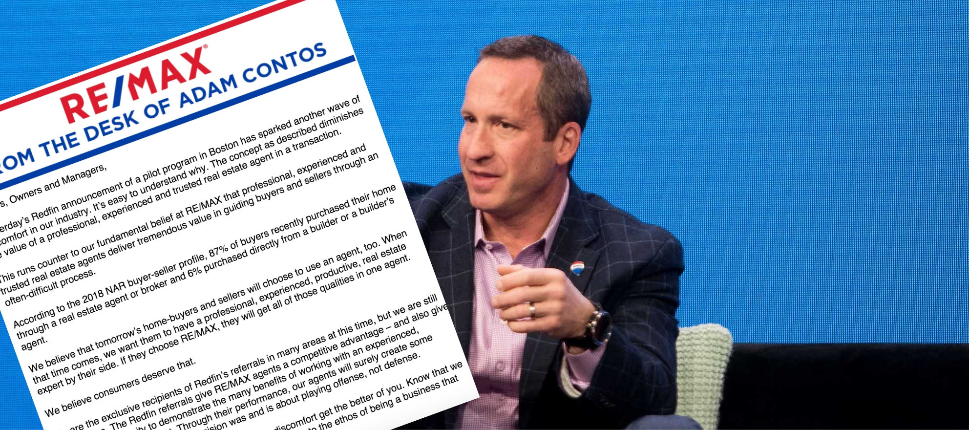 RE/MAX CEO addresses Redfin Direct, referral partnership