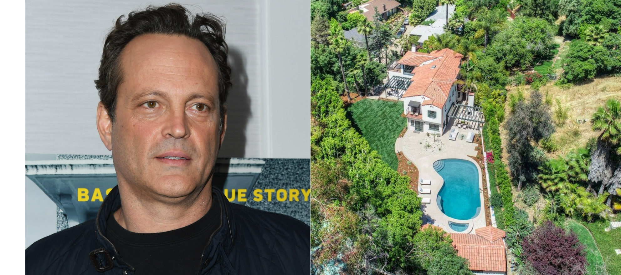 Vince Vaughn's former California estate hits the market