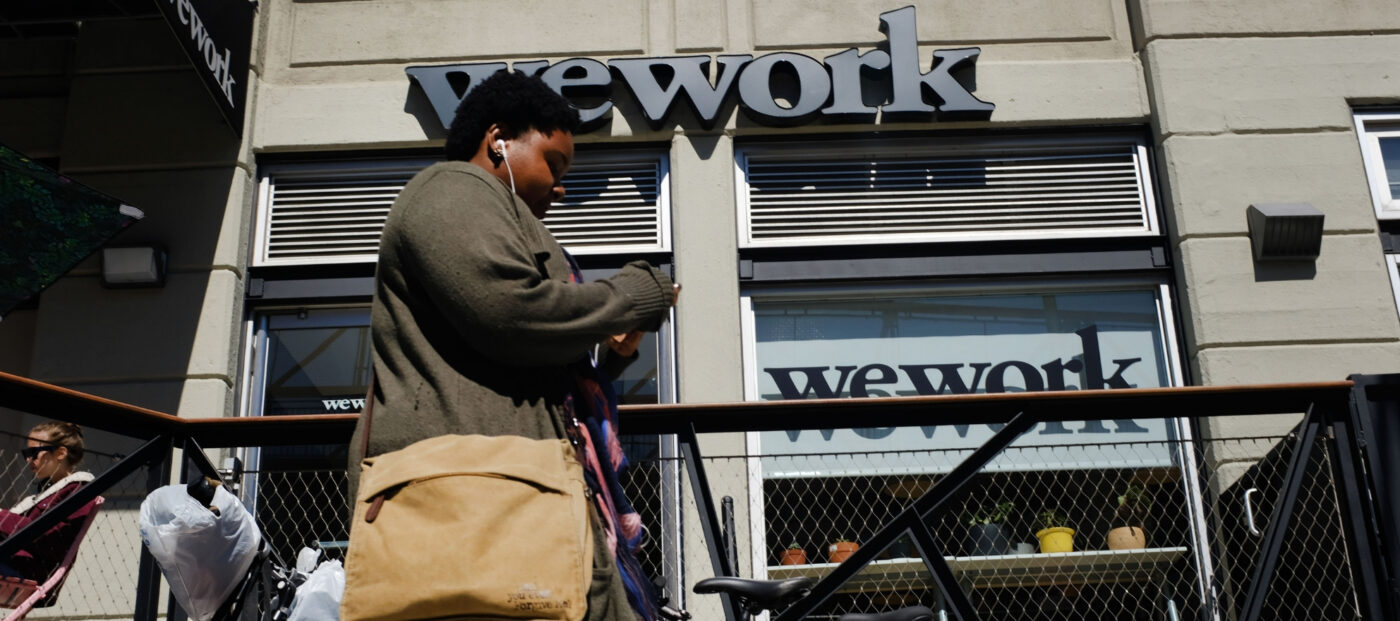 WeWork parent company files IPO