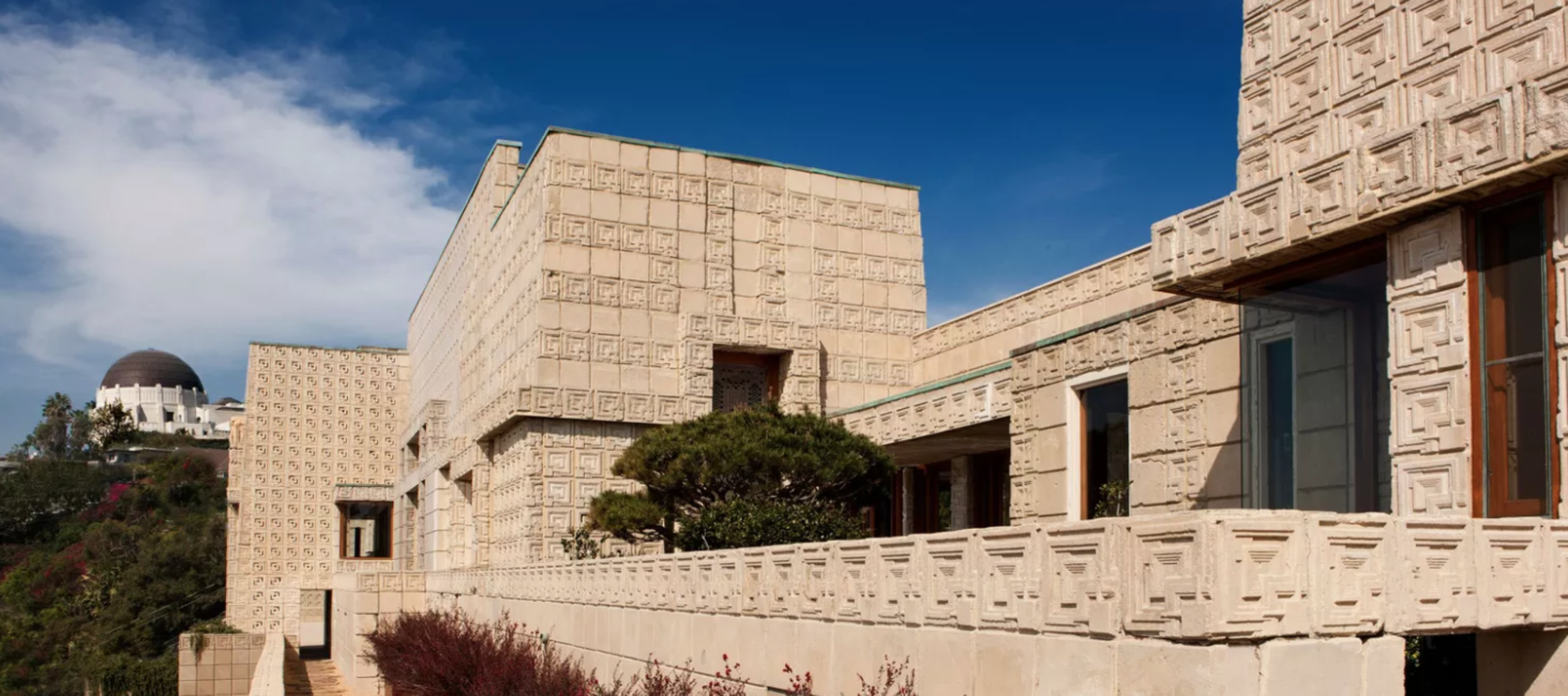 Frank Lloyd Wright Inspired Houses tour frank lloyd wright mayan-inspired $23m mansion - inman