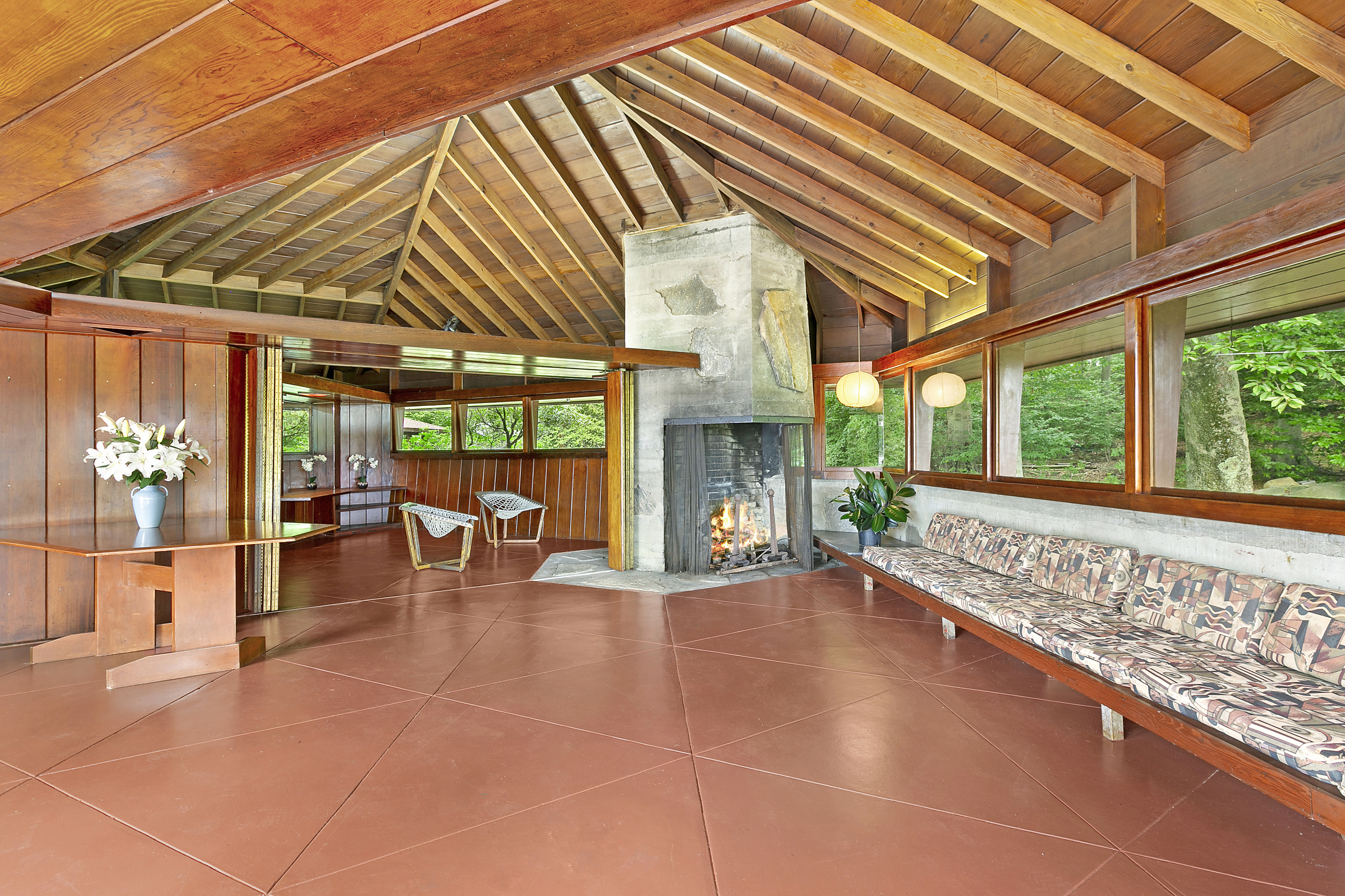 An island with 2 frank lloyd wright homes is up for sale - Frank lloyd wright houses for sale ...
