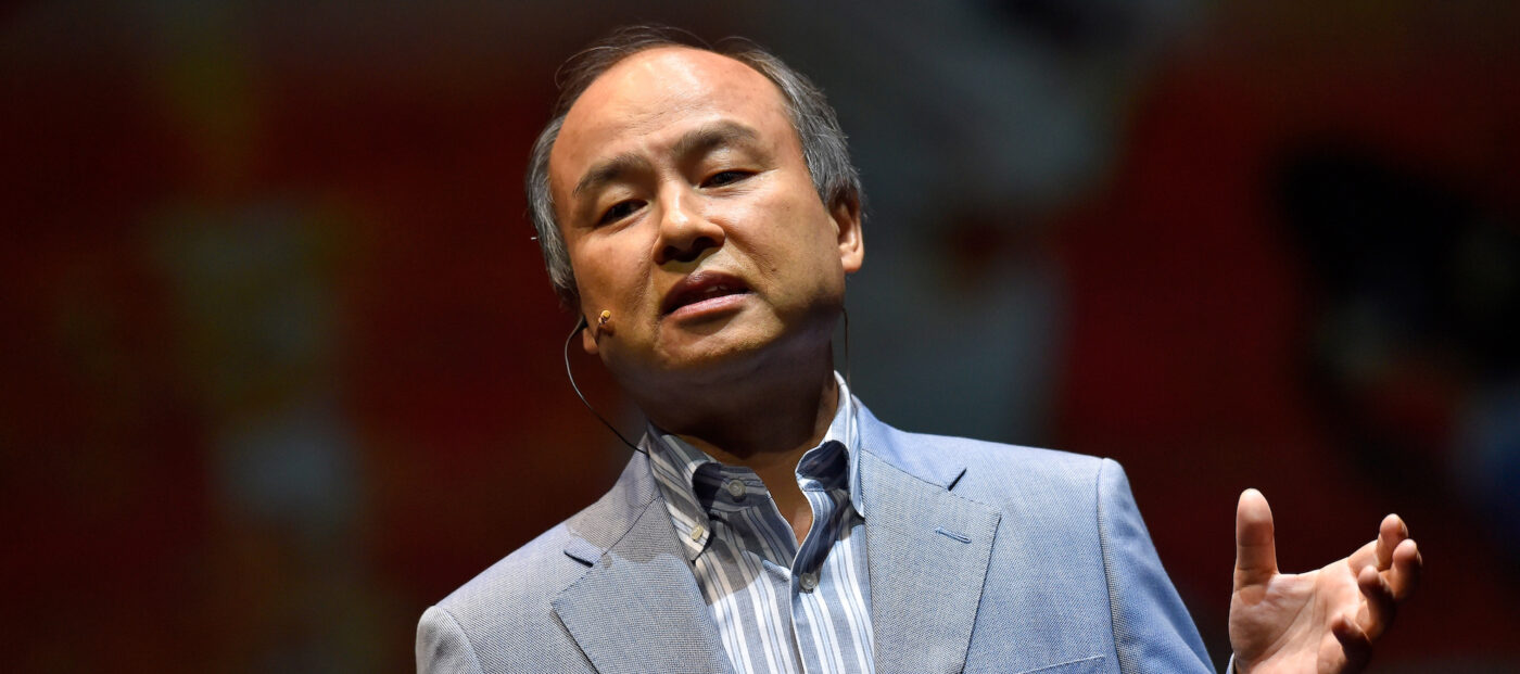 SoftBank CEO 'embarrassed' by results of his tech investments