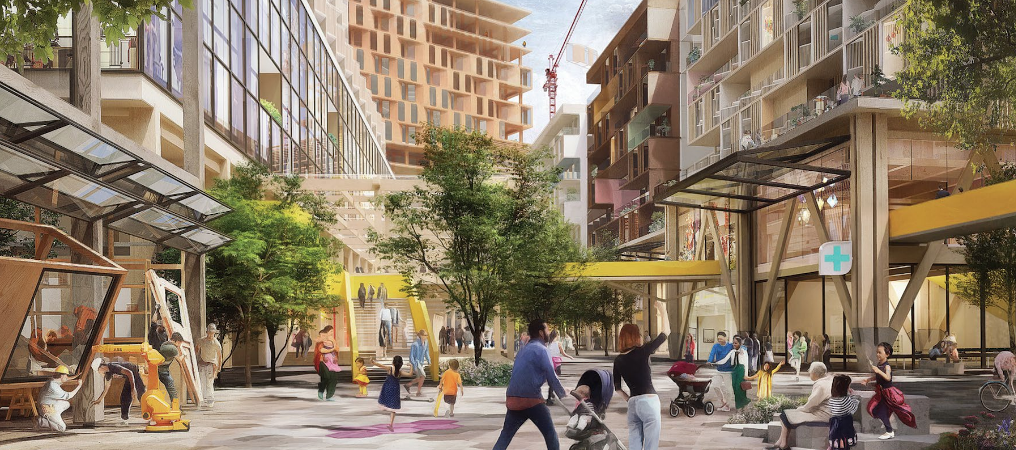 Google sibling Sidewalk unveils its master plan for Toronto smart city