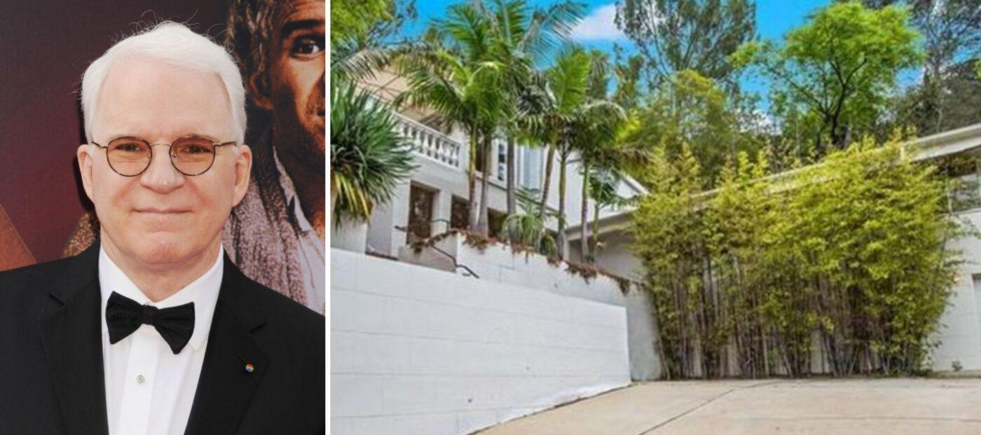 Steve Martin's Beverly Hills villa sells after just 3 weeks on market