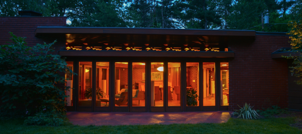 Frank Lloyd Wright home hits the market — without an agent
