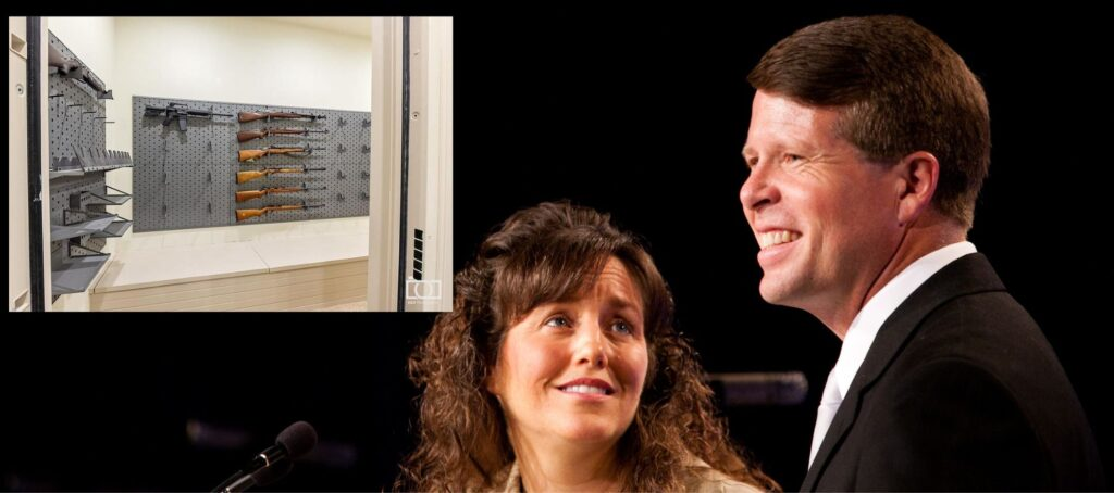 Duggar reality TV family sparks anger over guns in listing photo