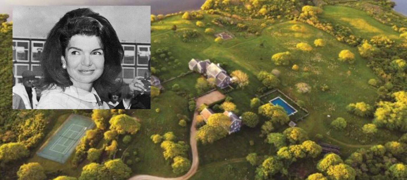 Jackie O's estate could be the most expensive home ever sold in Martha's Vineyard