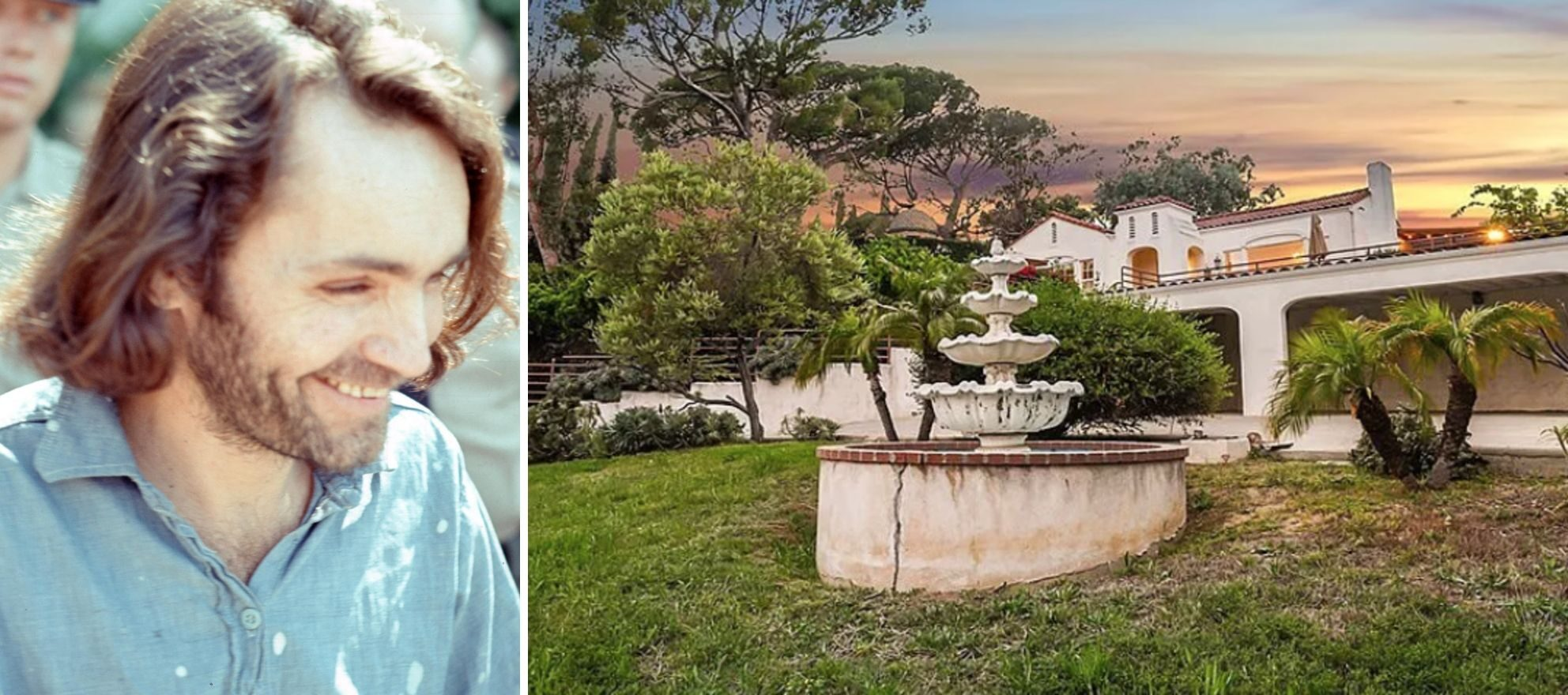 Charles Manson murder mansion hits the market for $1.98M